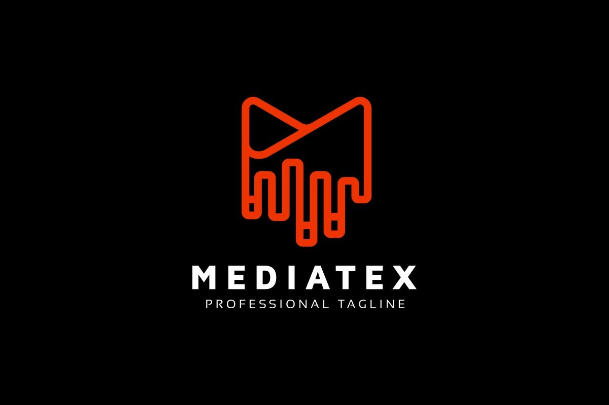 Mediatex M Letter Logo example image 2