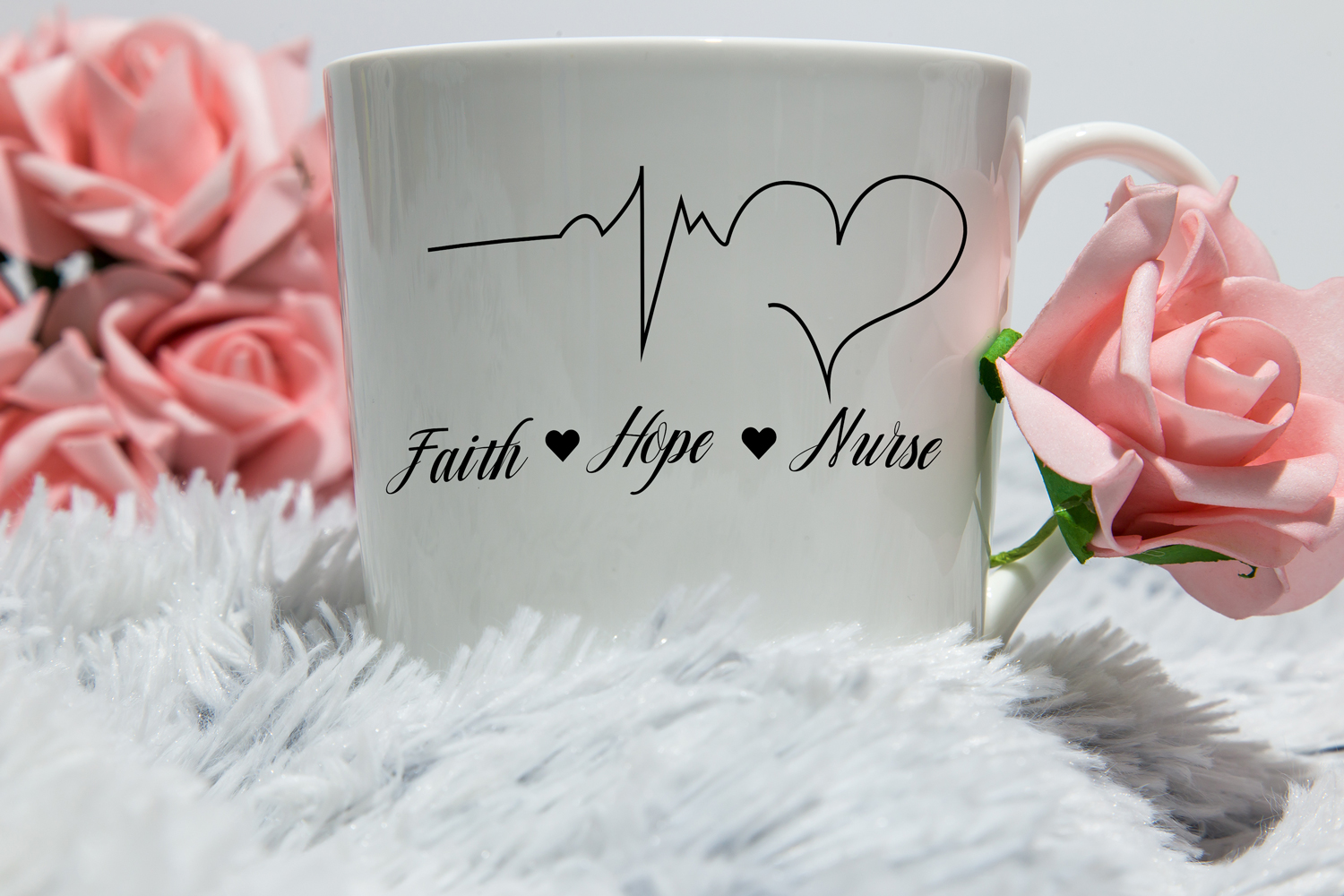 Faith Hope Nurse Svg,Dxf,Png,Jpg,Eps vector file example image 1