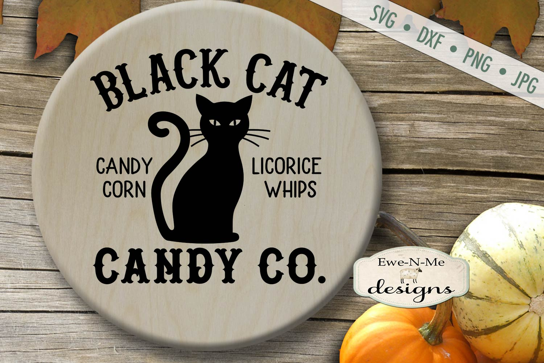 Halloween Mini Bundle - Trick or Treat - Black Cat - SVG DXF example image 5