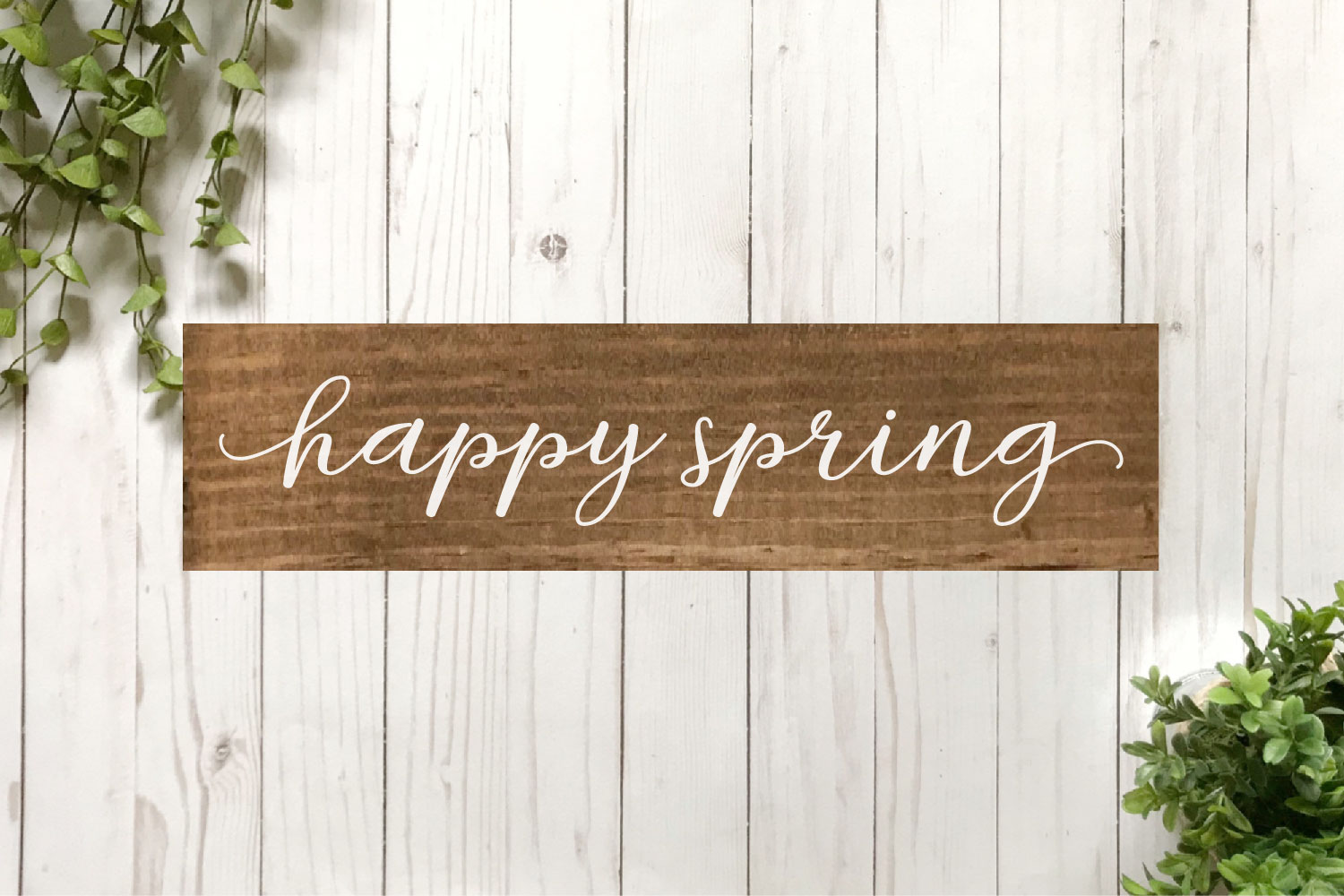 Spring SVG Bundle - Cut Files for Signs example image 10