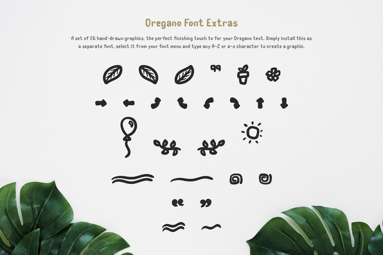 Oregano Handwritten Font example image 8