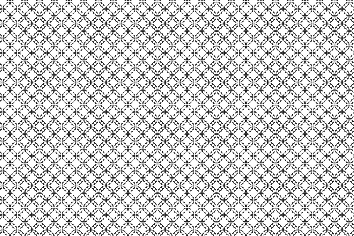 Collection of ornamental patterns. example image 3