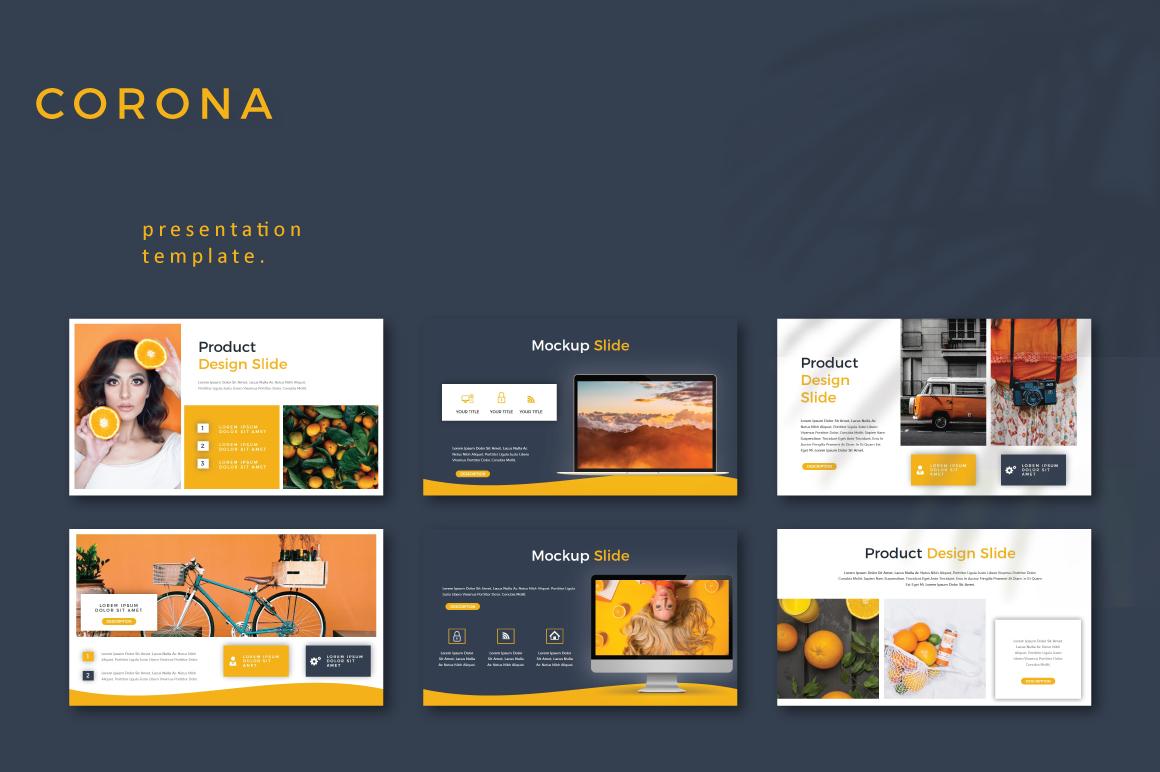 CORONA - Google Slides example image 6