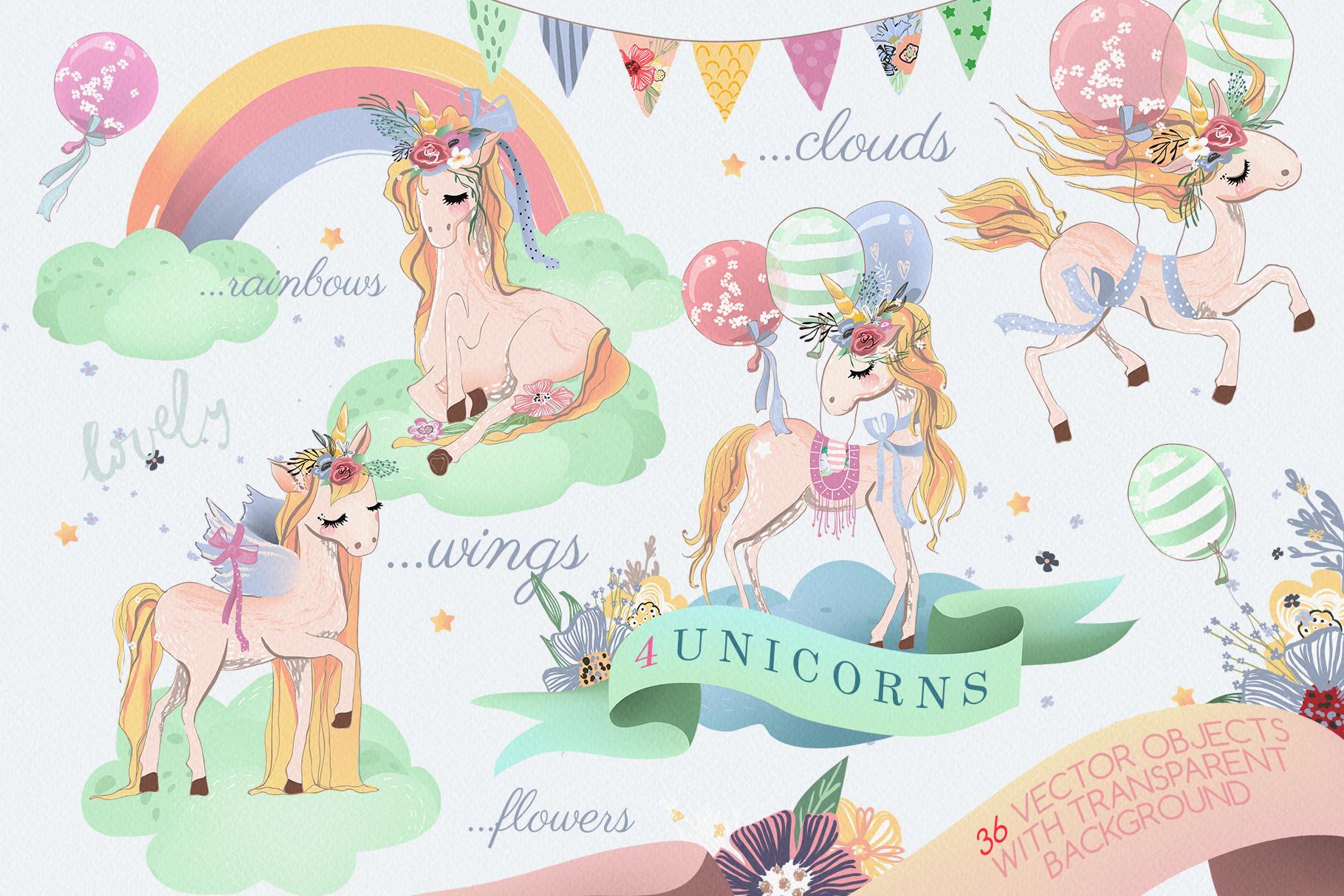 Romantic Unicorns example image 2