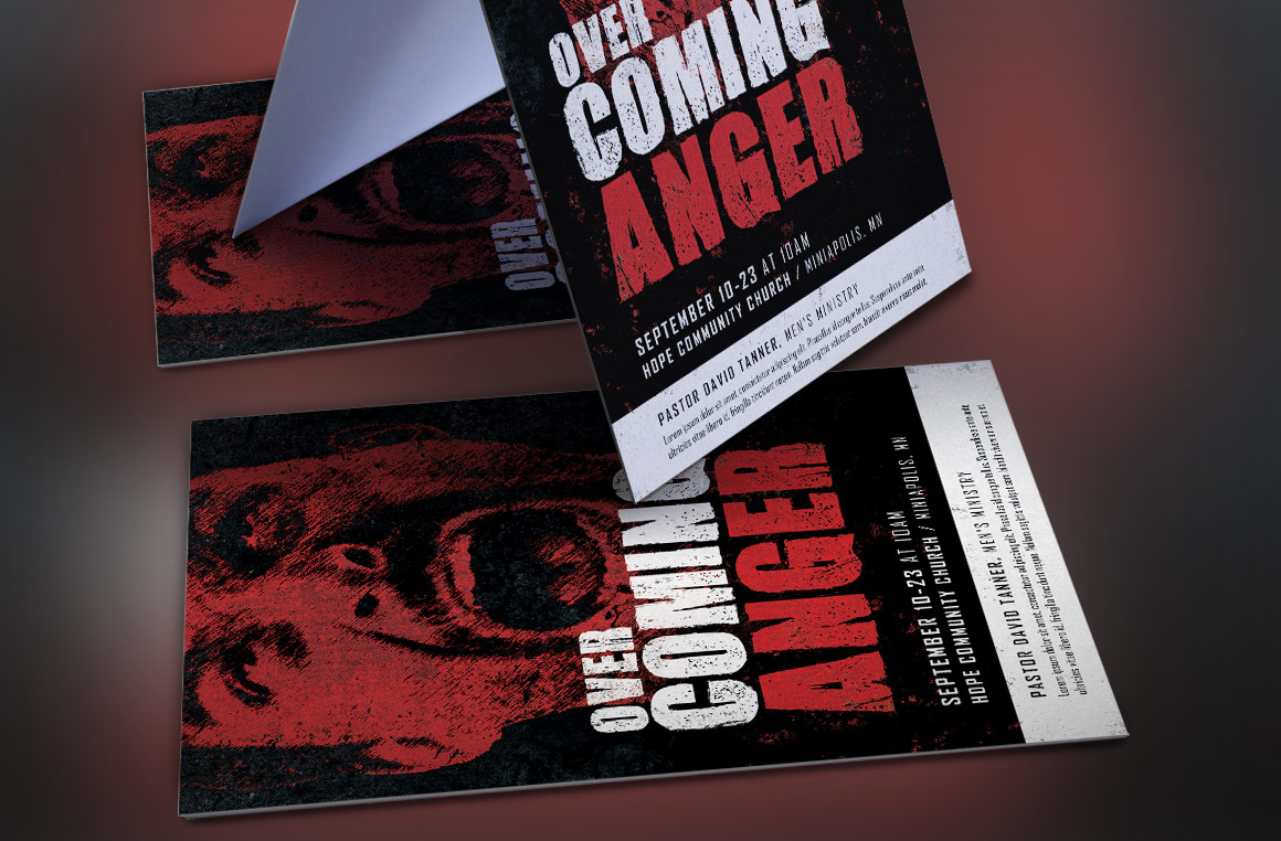 Overcoming Anger Flyer Template example image 2
