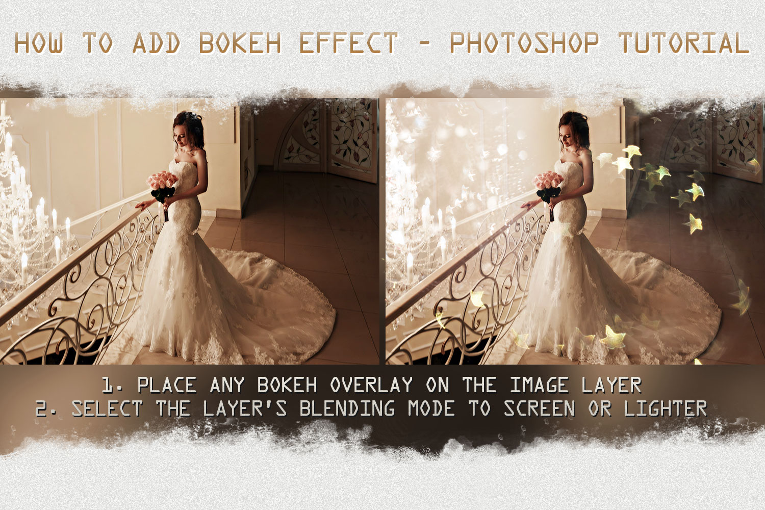 Sunbeams, spring, star, flare, photoshop overlays, natural example image 7