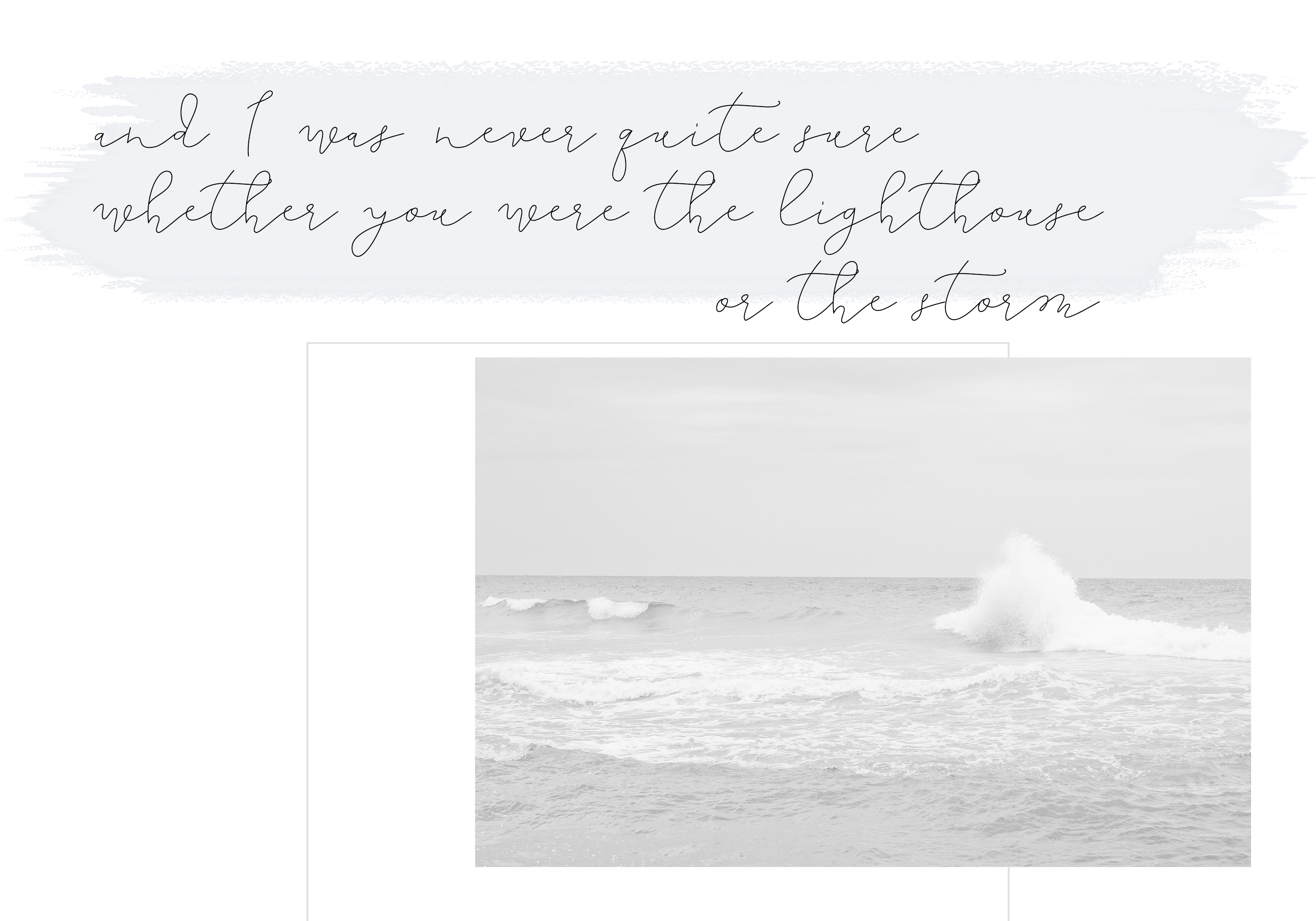 The Lighthouse - Delicate Script Font example image 2