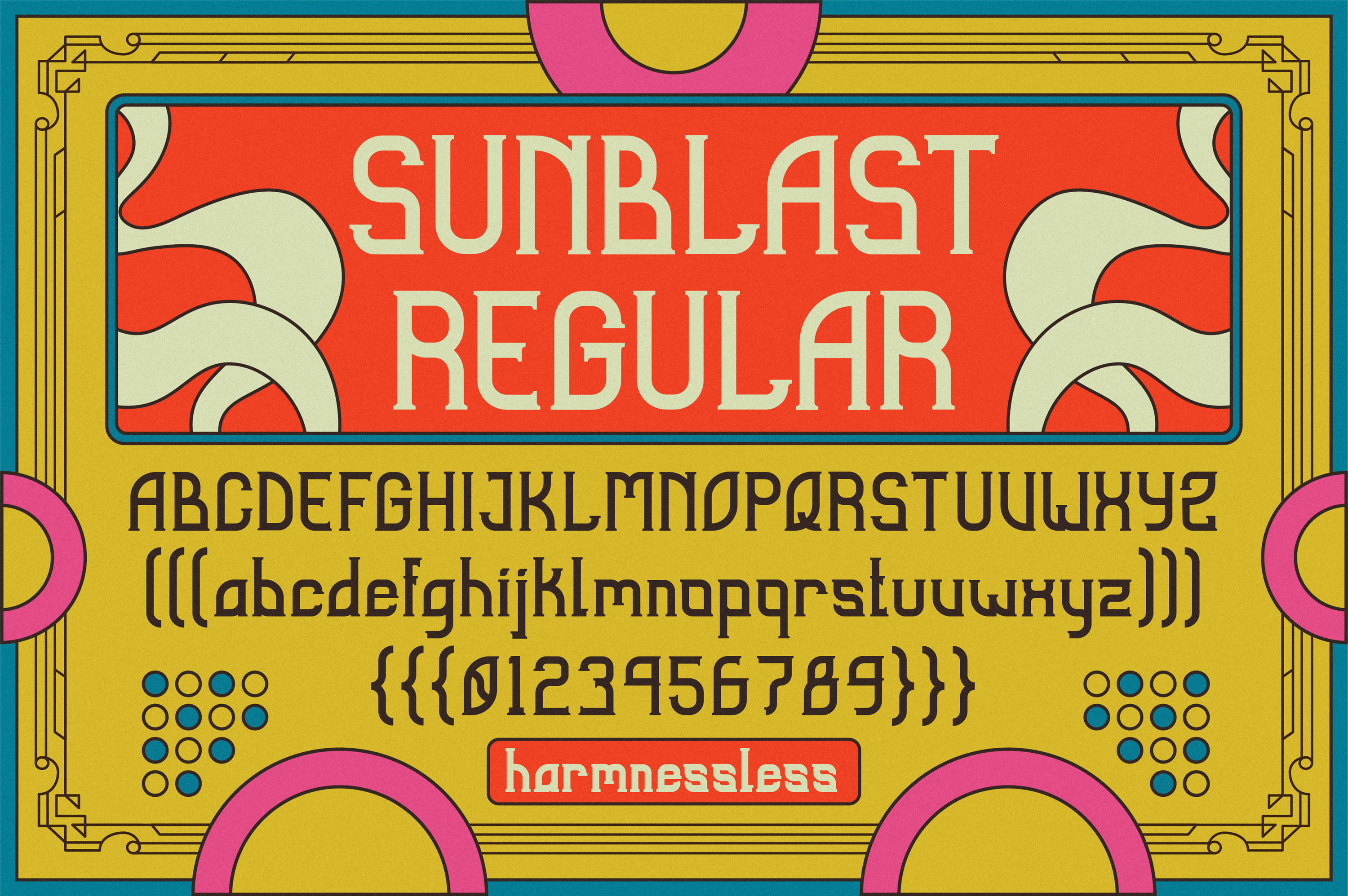 Sunblast Display Typeface example image 5