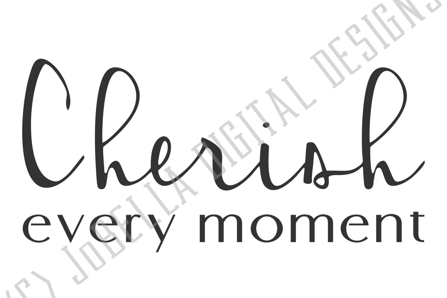 Cherish Every Moment SVG and Printable Farmhouse Design example image 2