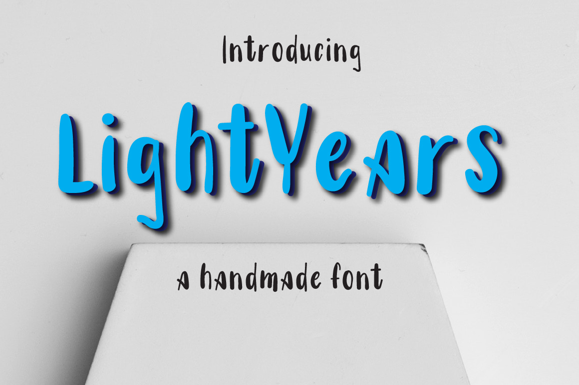 Lightyears Typeface example image 1