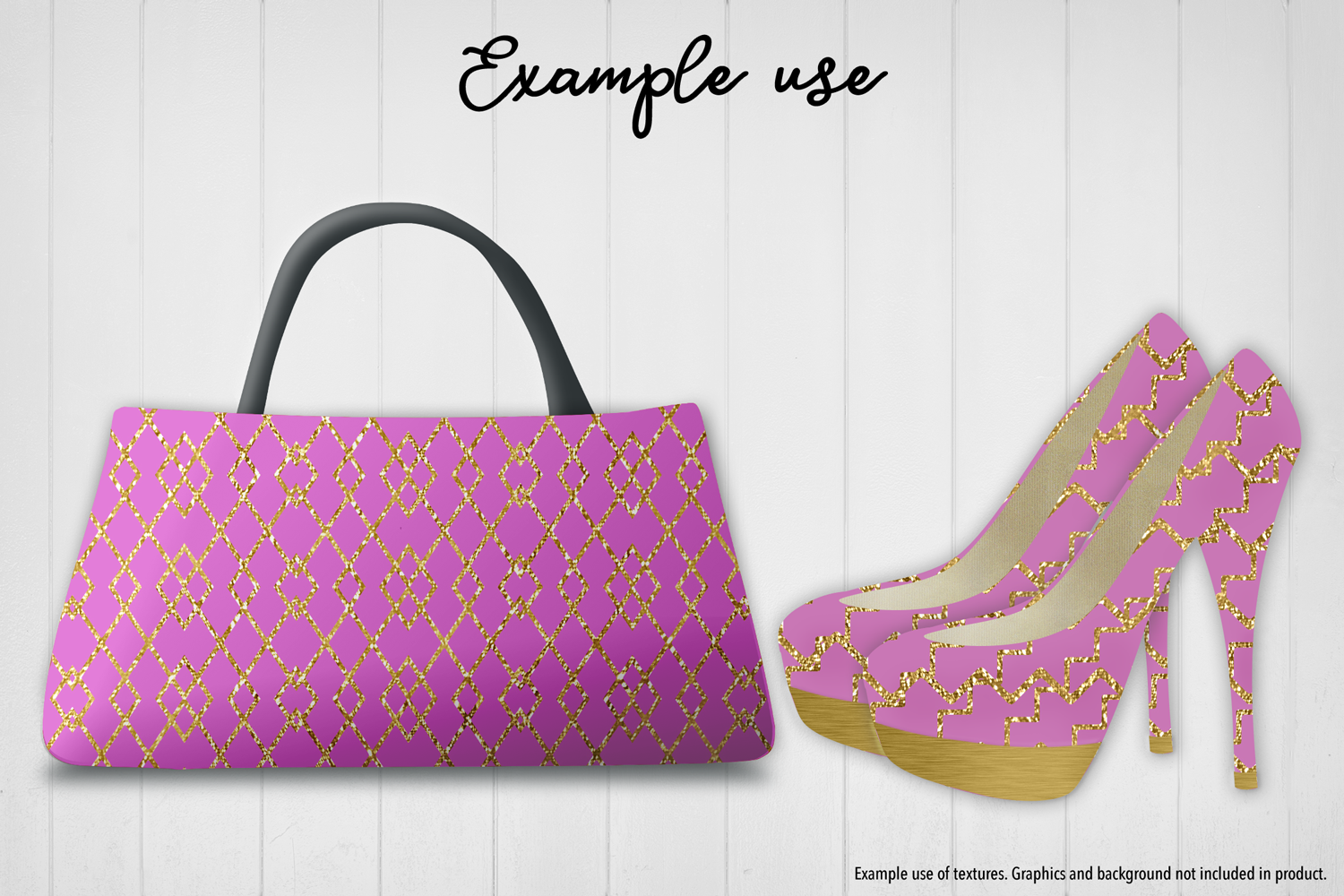 Pink and Gold Glitter example image 7