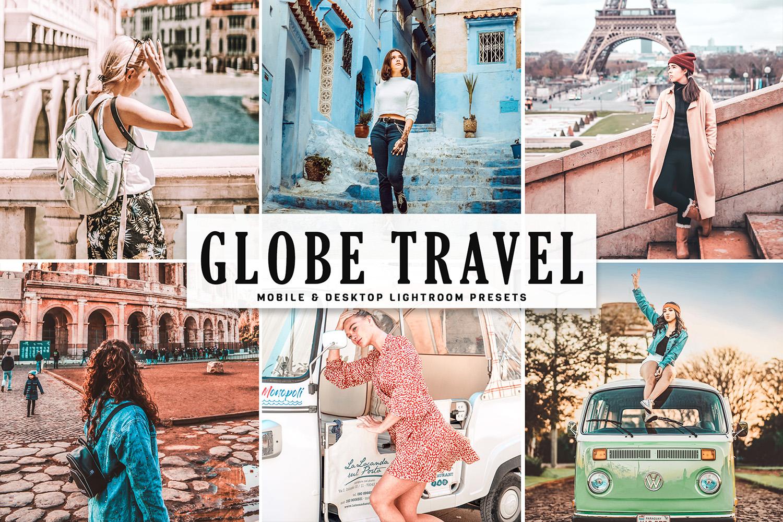 Globe Travel Mobile & Desktop Lightroom Presets example image 1