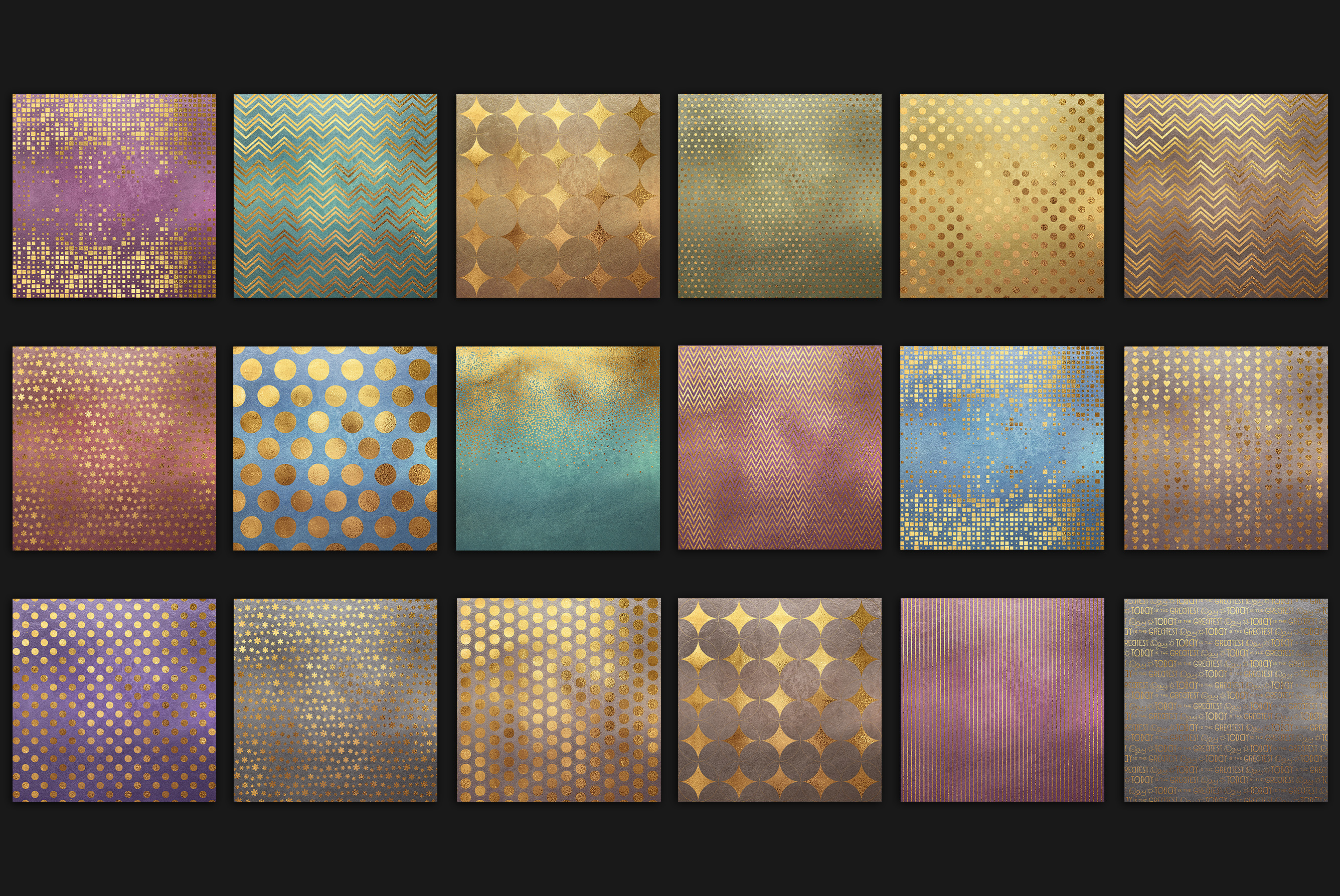 Gold Patterns example image 3
