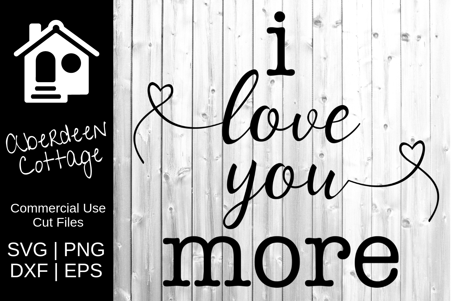 I Love You More Design example image 2