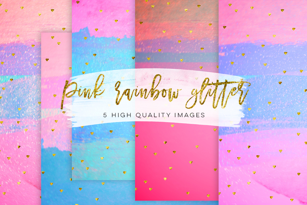 Pastel Rainbow Digital Paper Pack, confetti glitter pastel paper texture pack, Summer Digital Paper Pack, Summer Wallpaper, digital texture example image 2
