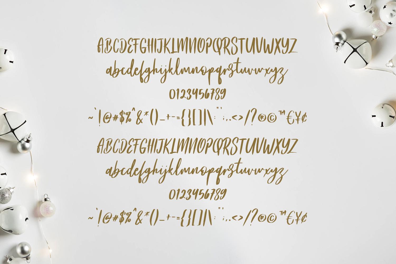 Frances Modern Font example image 2