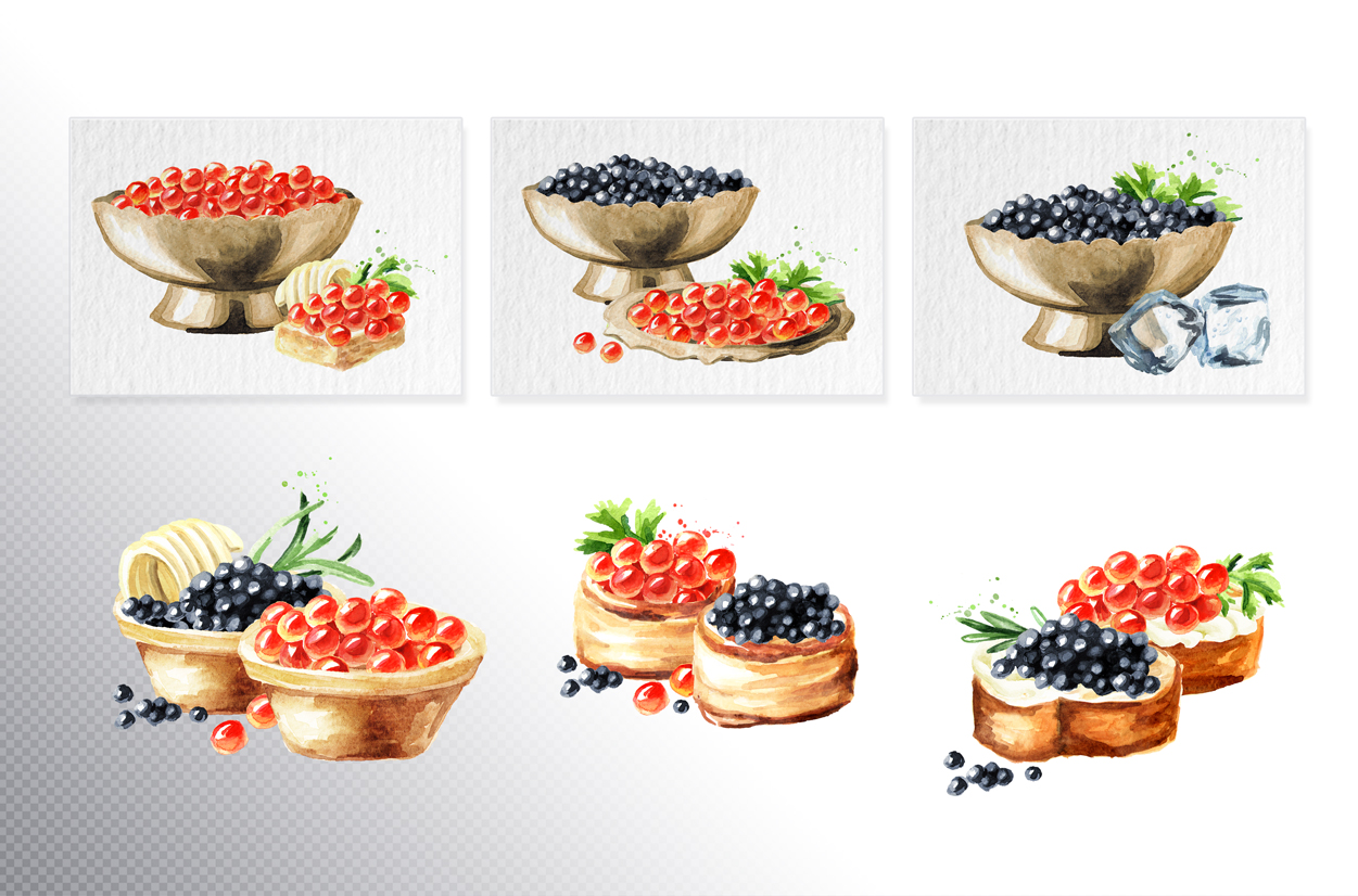 Caviar & champagne example image 3