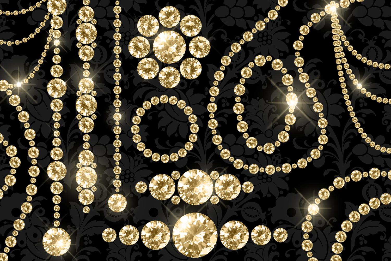 Luxury Diamond Clipart example image 4