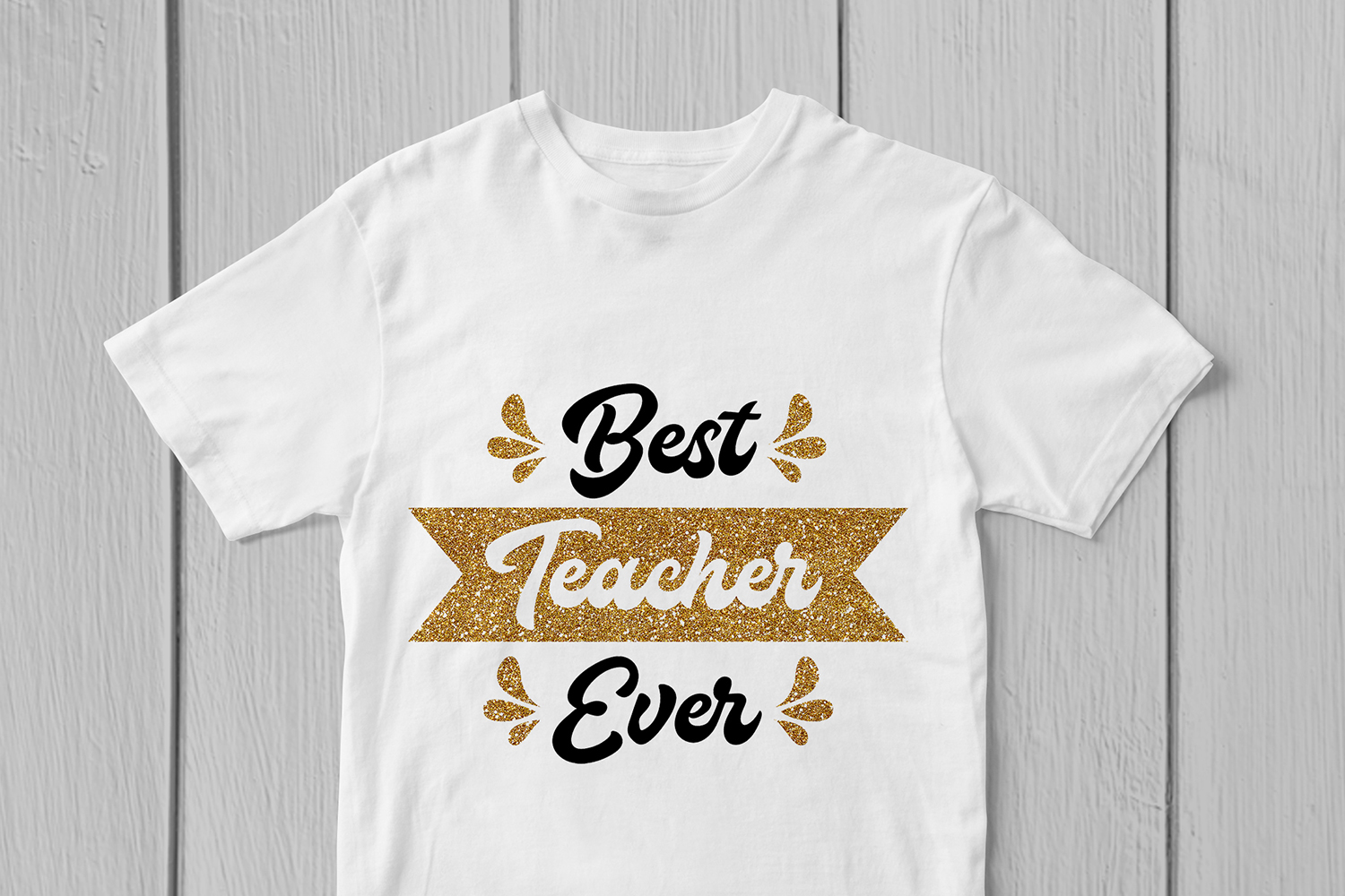 Best Teacher Ever - Teacher SVG EPS DXF PNG Cutting Files example image 3