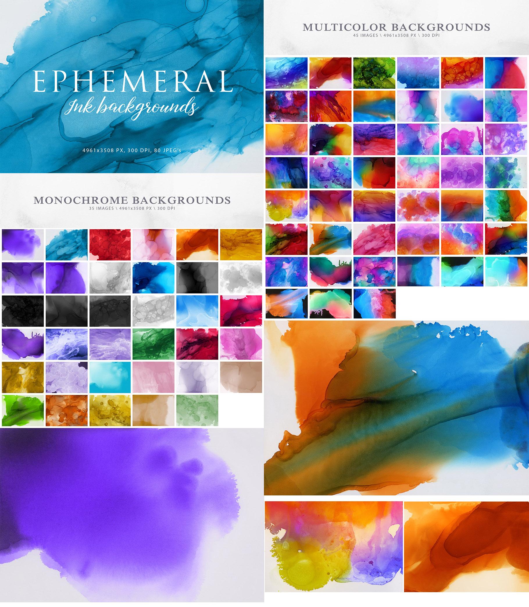 Aesthetic Backgrounds BUNDLE example image 6
