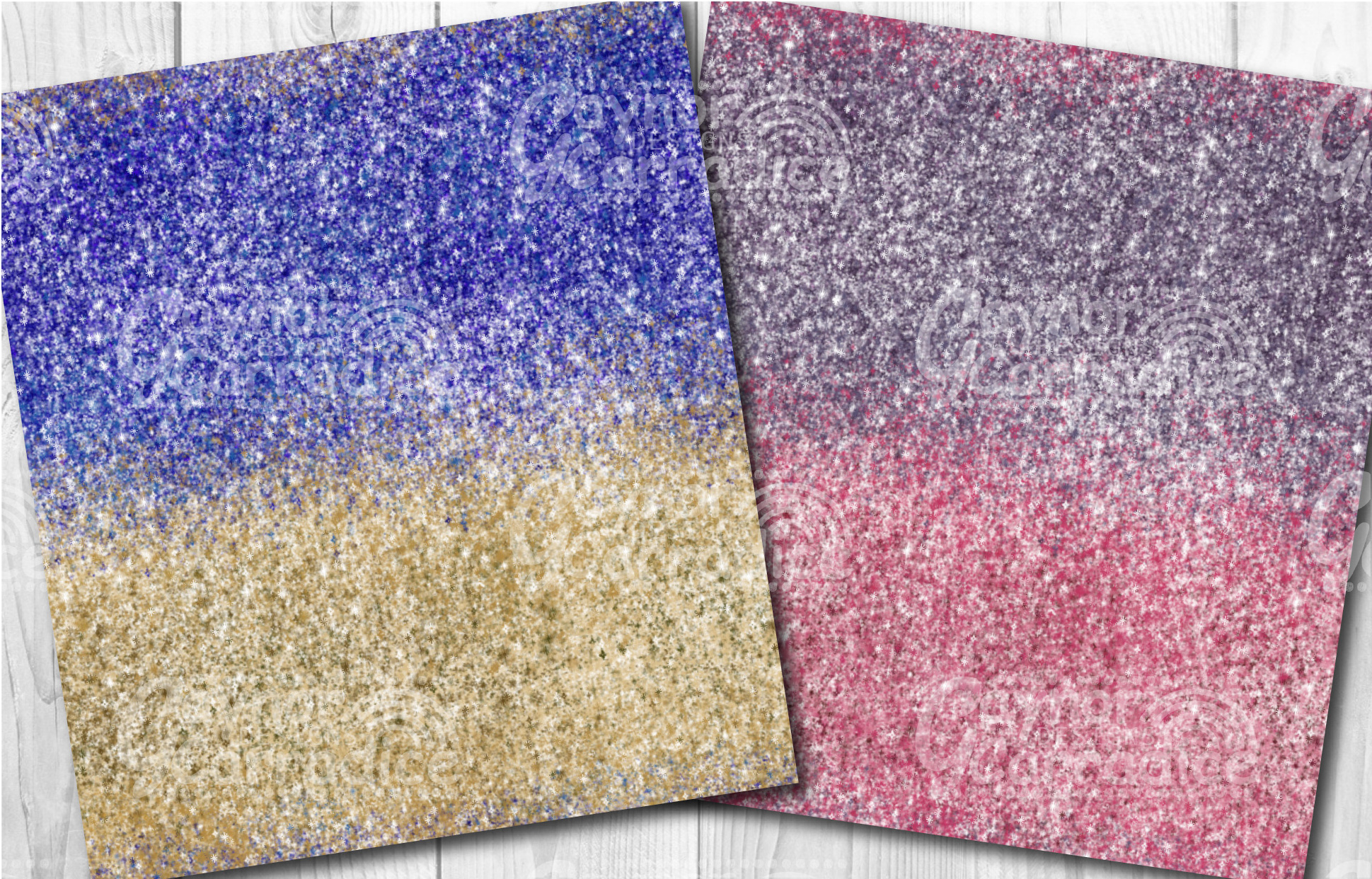 Ombre glitter collection example image 6