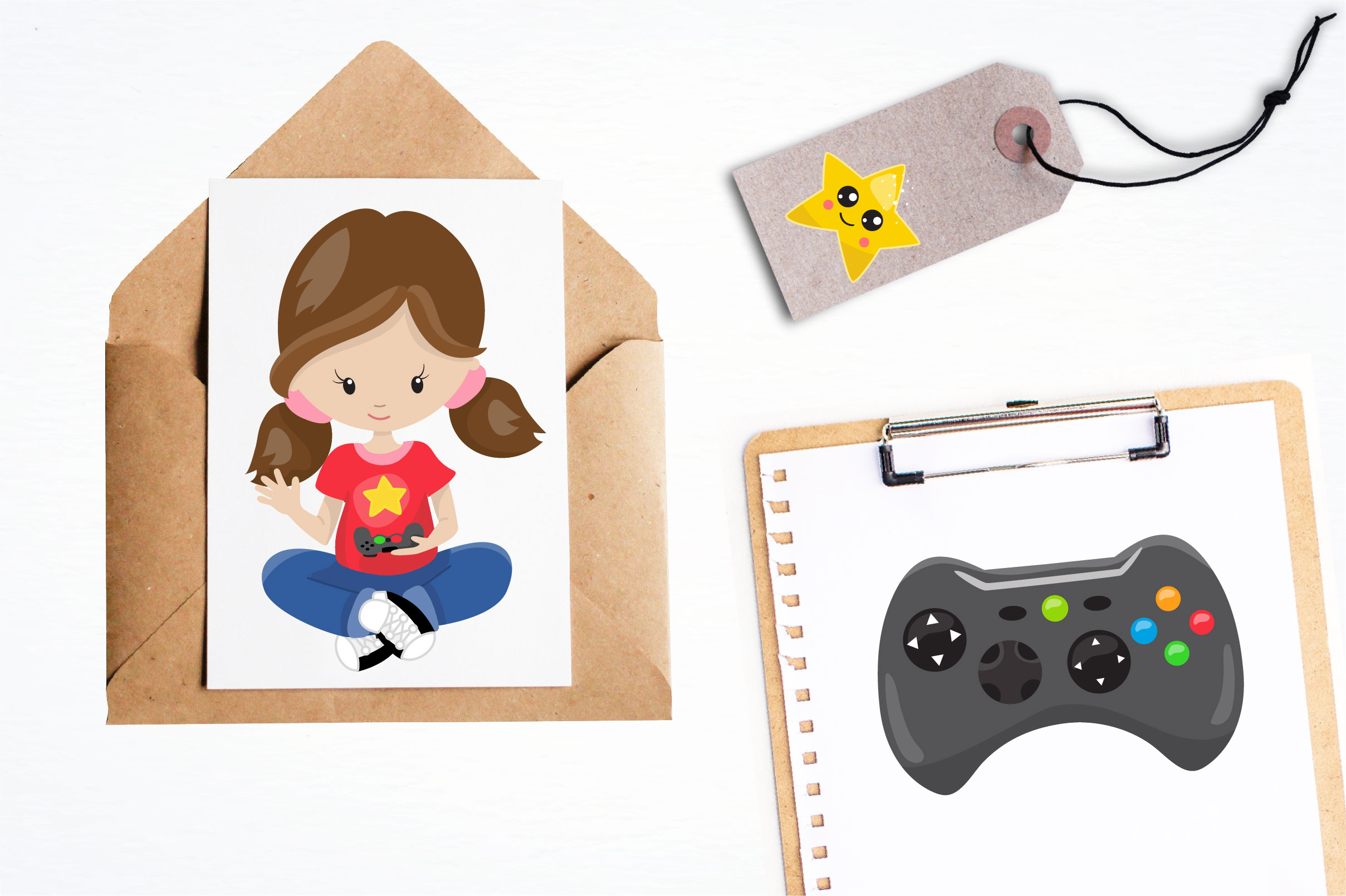 Game kids graphics and illustrations example image 2