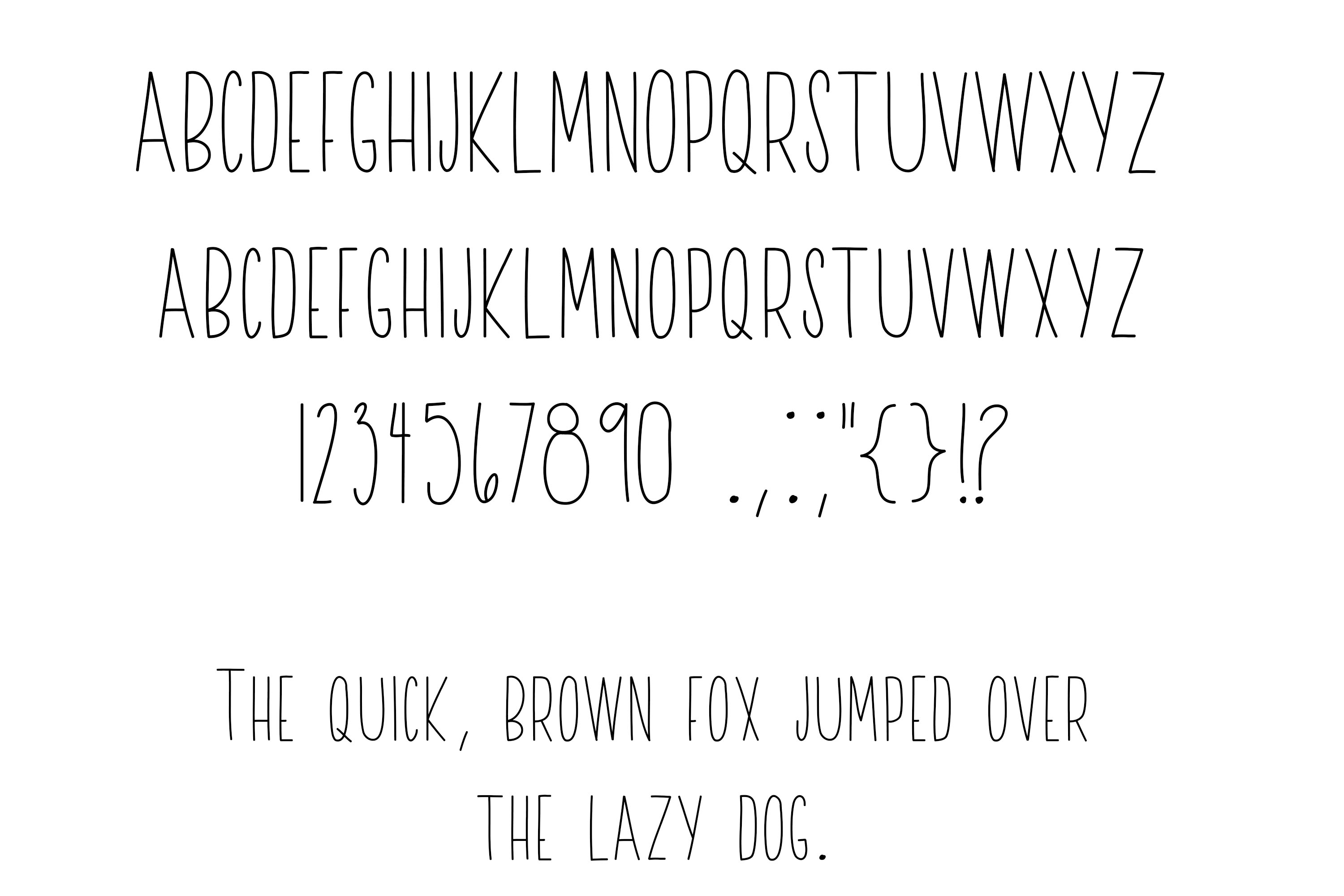 A Sweet Font Duo example image 10