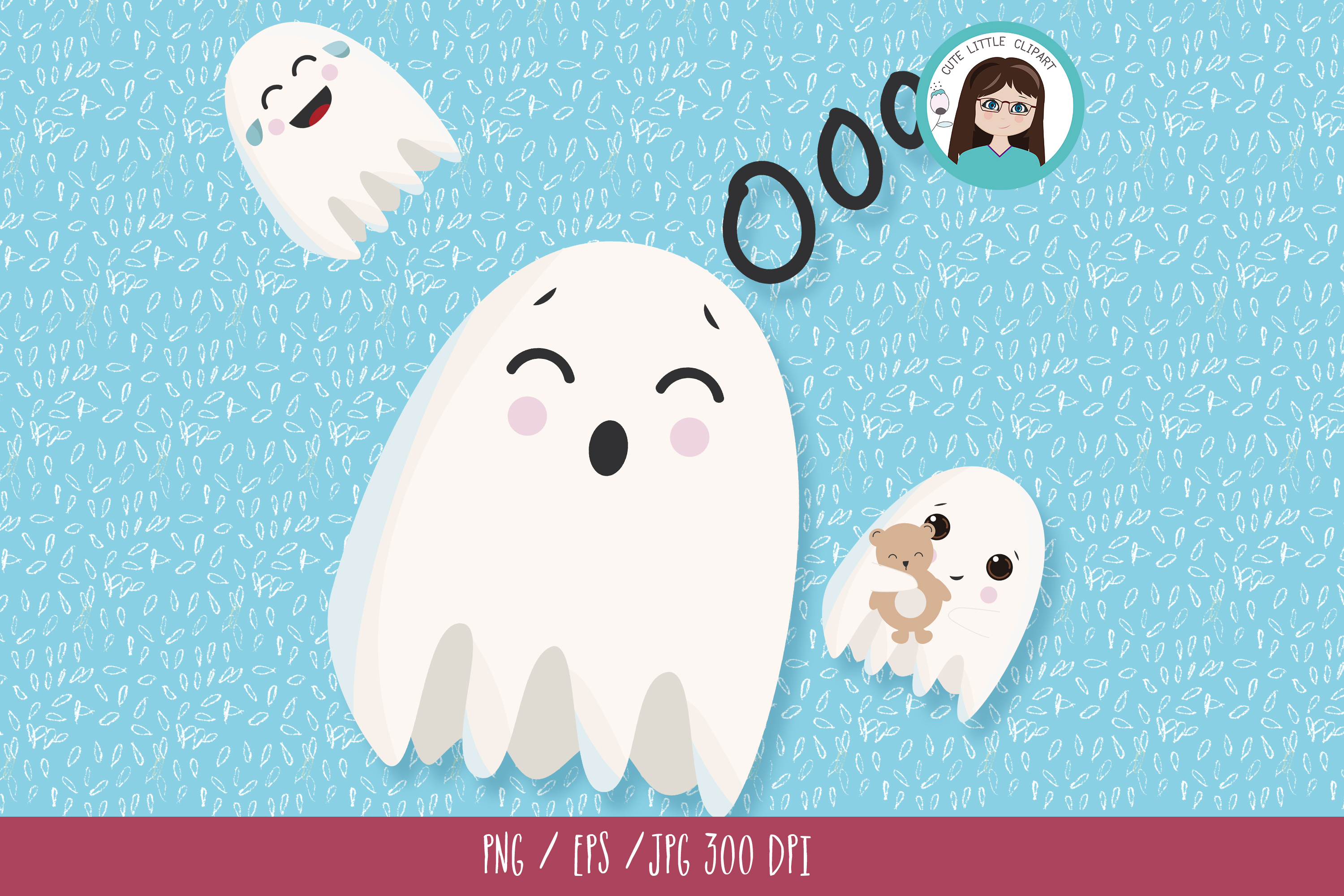 Ghost clipart example image 3