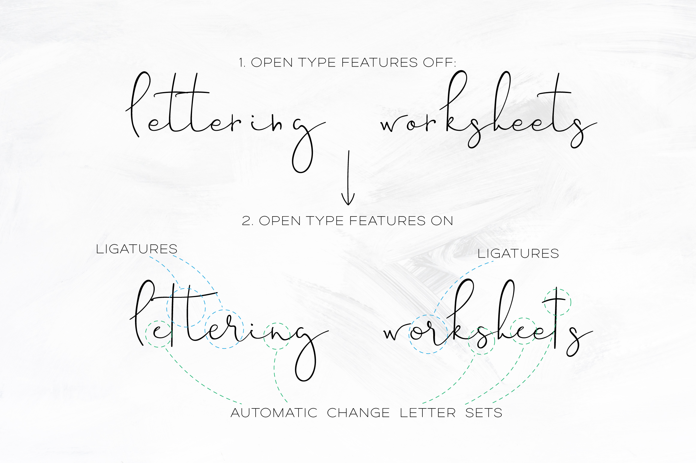 Sinali - handwritten calligraphy font example image 7