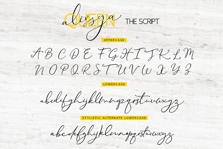 The Queen Alissya Font Duo example image 10