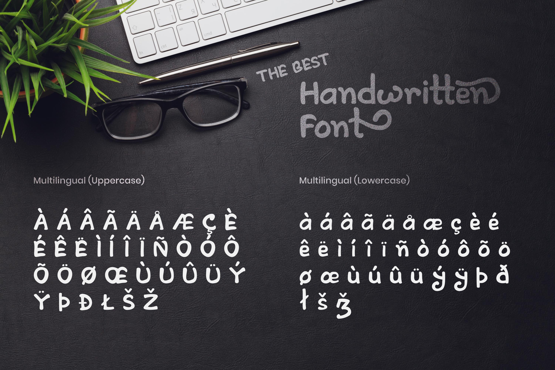 Artless - Handwritten Font example image 7