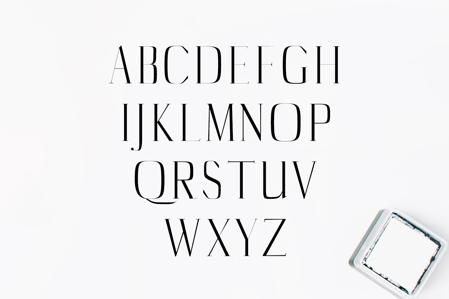 Catheryn Serif 4 Font Family Pack example image 2