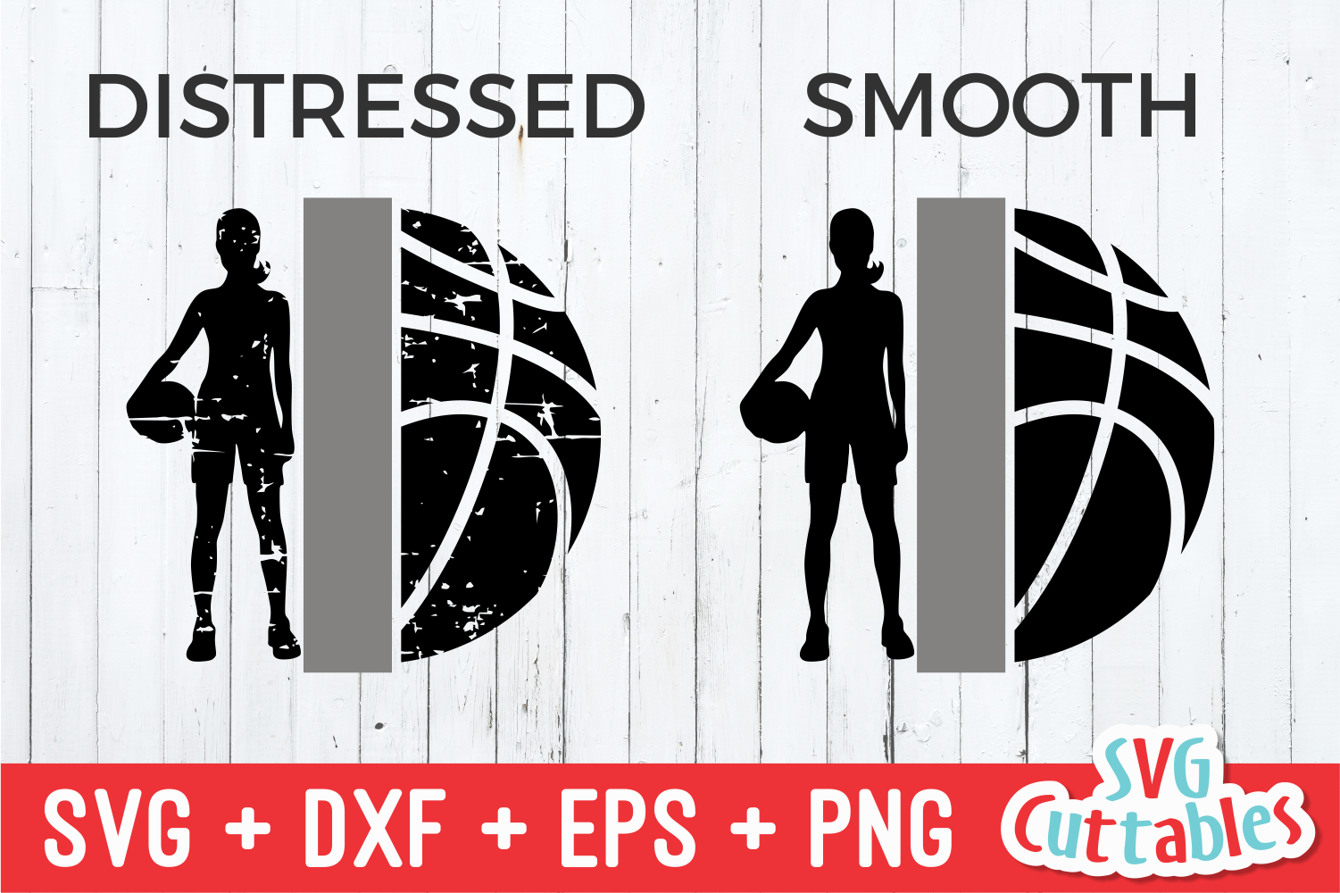 Basketball SVG | Girls Basketball Template example image 2