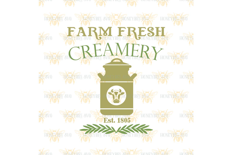 Farm Fresh Creamery svg example image 2