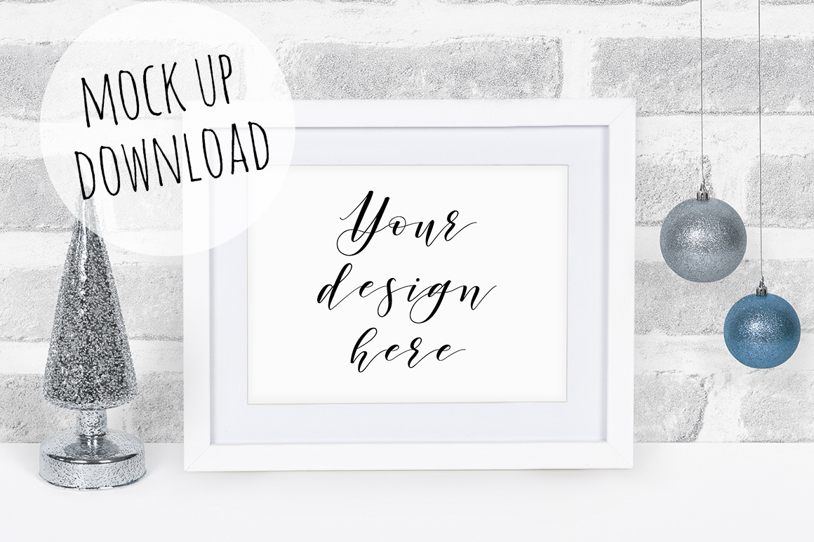 Christmas Frame Mockup Bundle example image 11