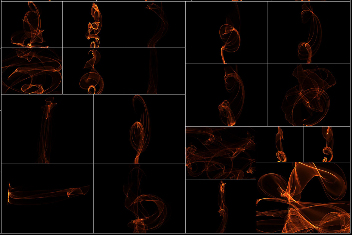 75 Abstract Fire Overlays Vol. 1 example image 6