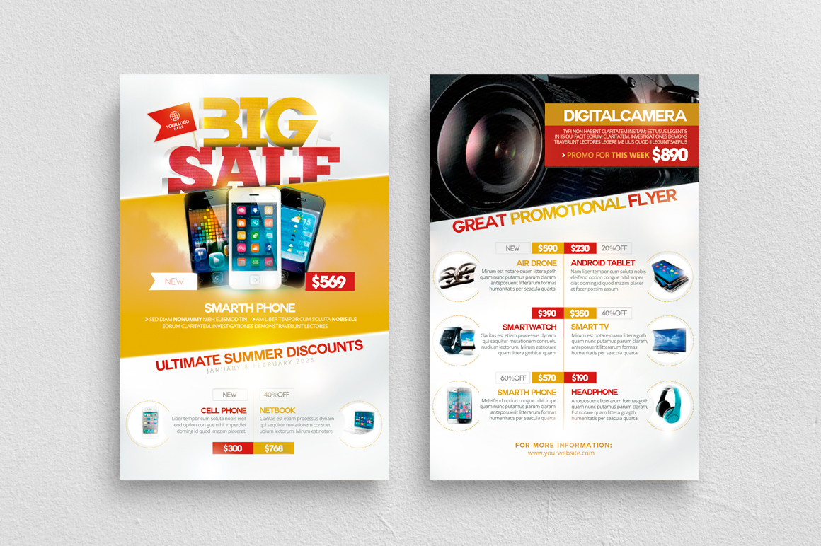 Product Catalog Flyer Template example image 2