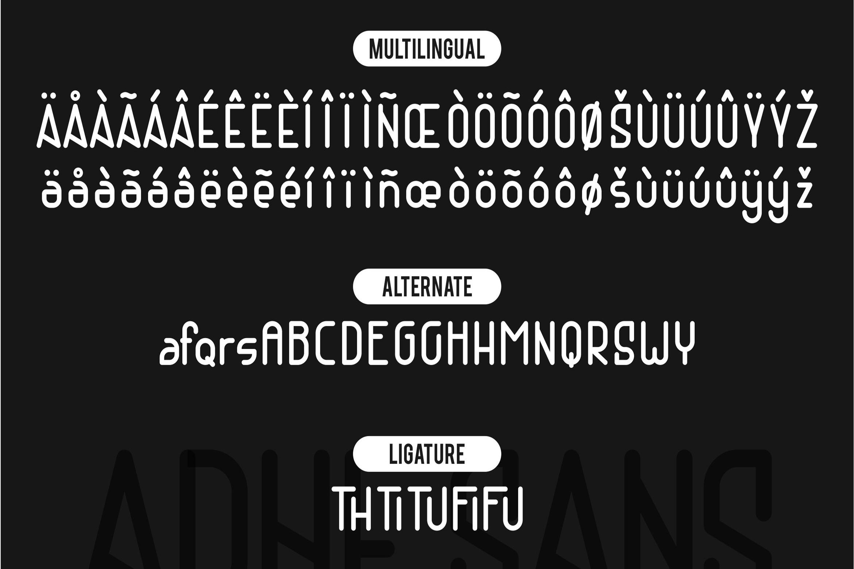 Adhe Sans example image 9