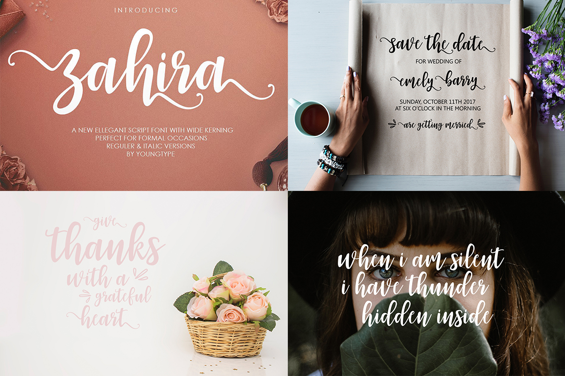 The Handlettered Font Collection example image 12