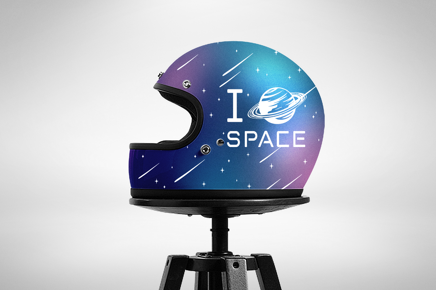 Lost In Space. Color Font - SVG example image 15
