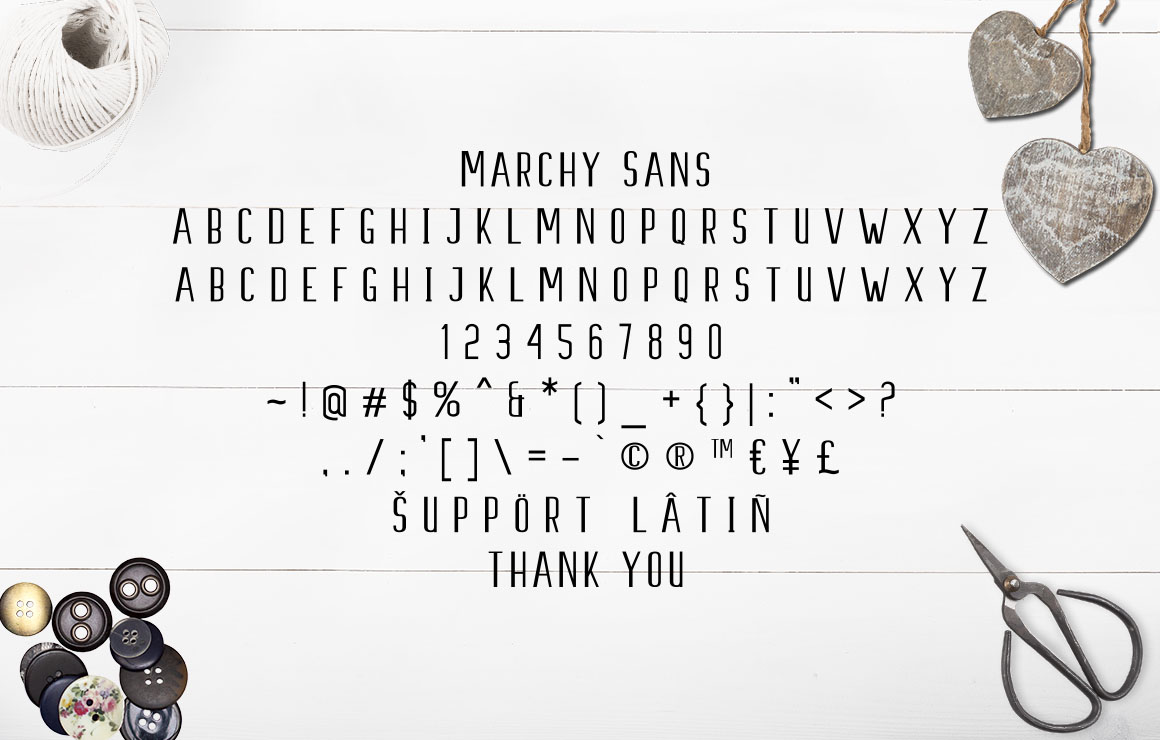 Marchy Script example image 14