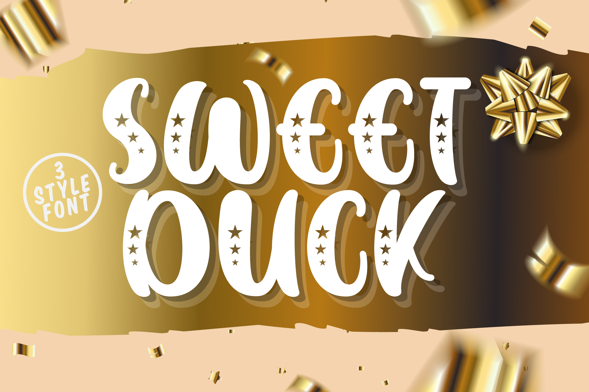 Sweet Duck - A Cute Sans Font example image 1