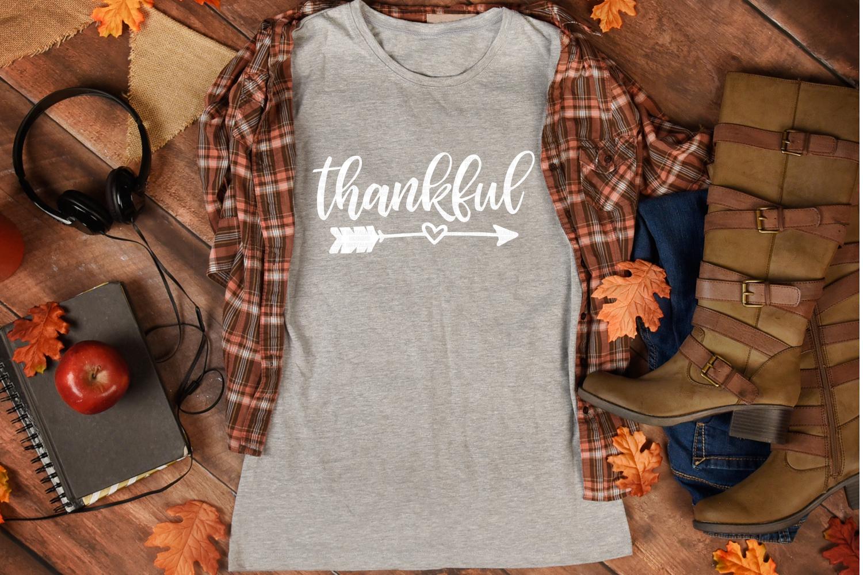 thankful SVG | arrow SVG | Thanksgiving SVG example image 3