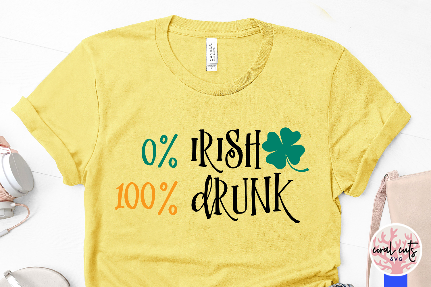 0 irish 100 drunk - St. Patrick's Day SVG EPS DXF PNG example image 3