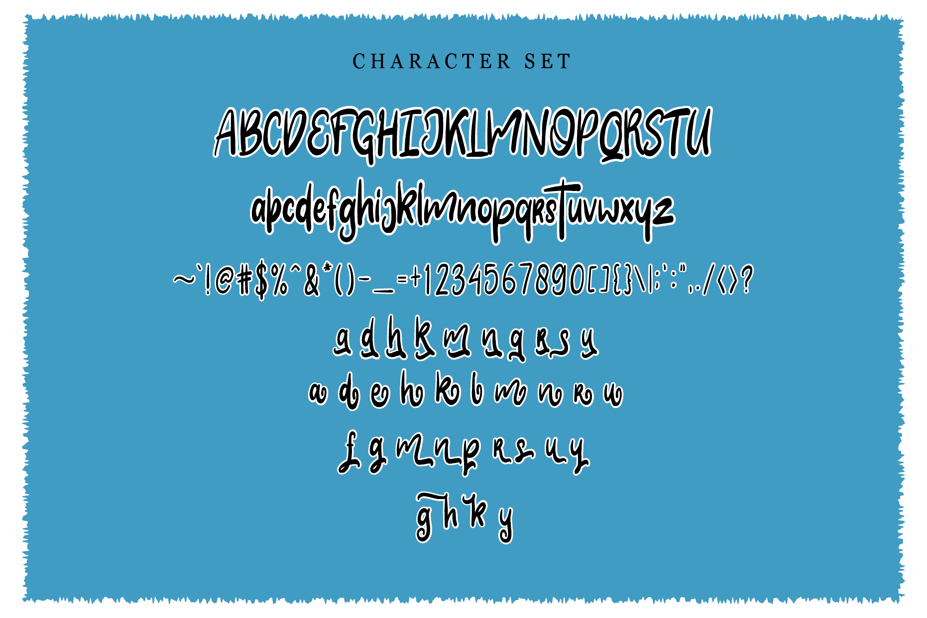 Clarra Layered Fonts example image 4