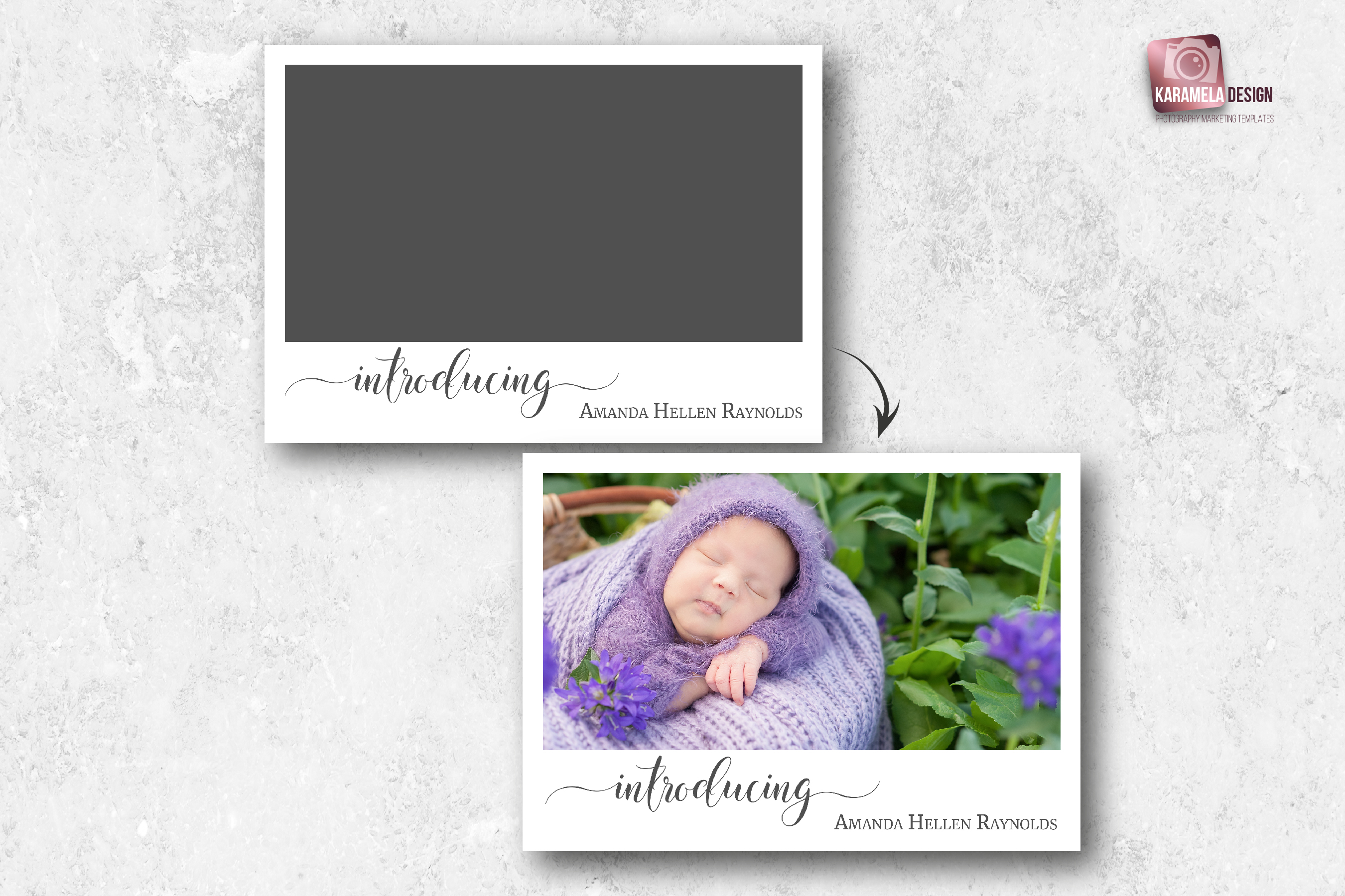 Birth Announcement Template example image 2