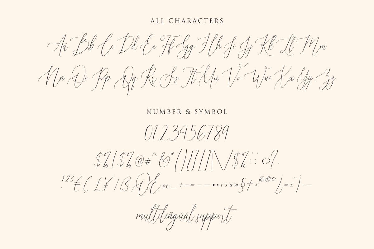 Audrey & Reynold - Luxury Script example image 10
