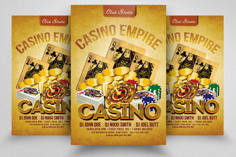 10 Casino Flyers Bundle example image 5
