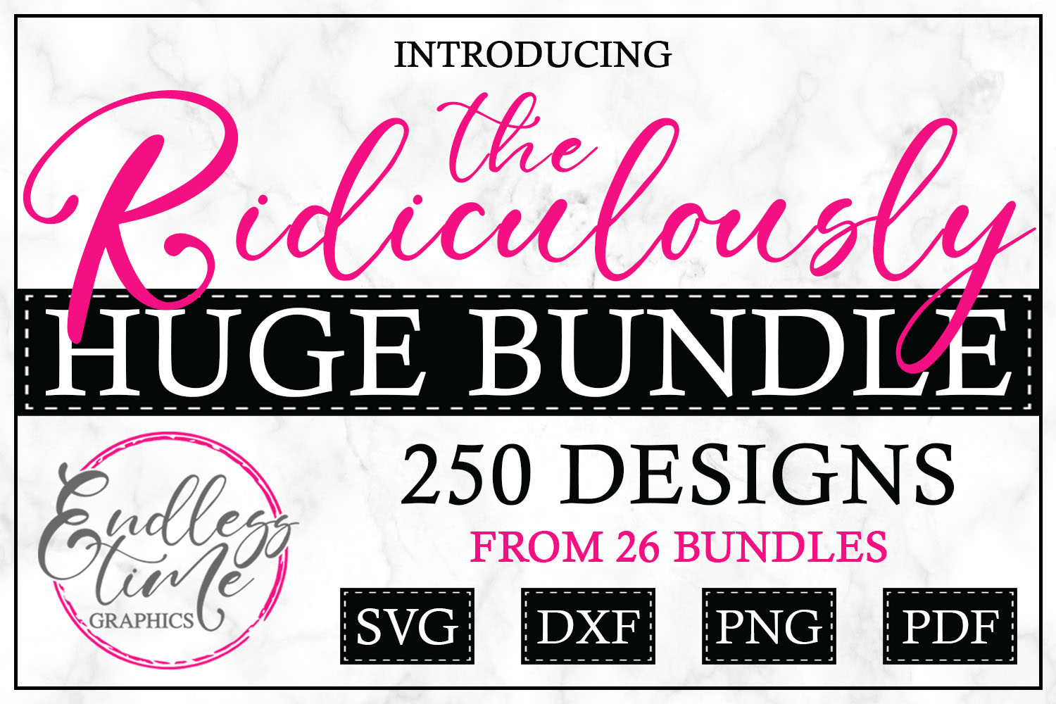 The Ridiculously Huge Bundle SALE - A Massive SVG Collection example image 2