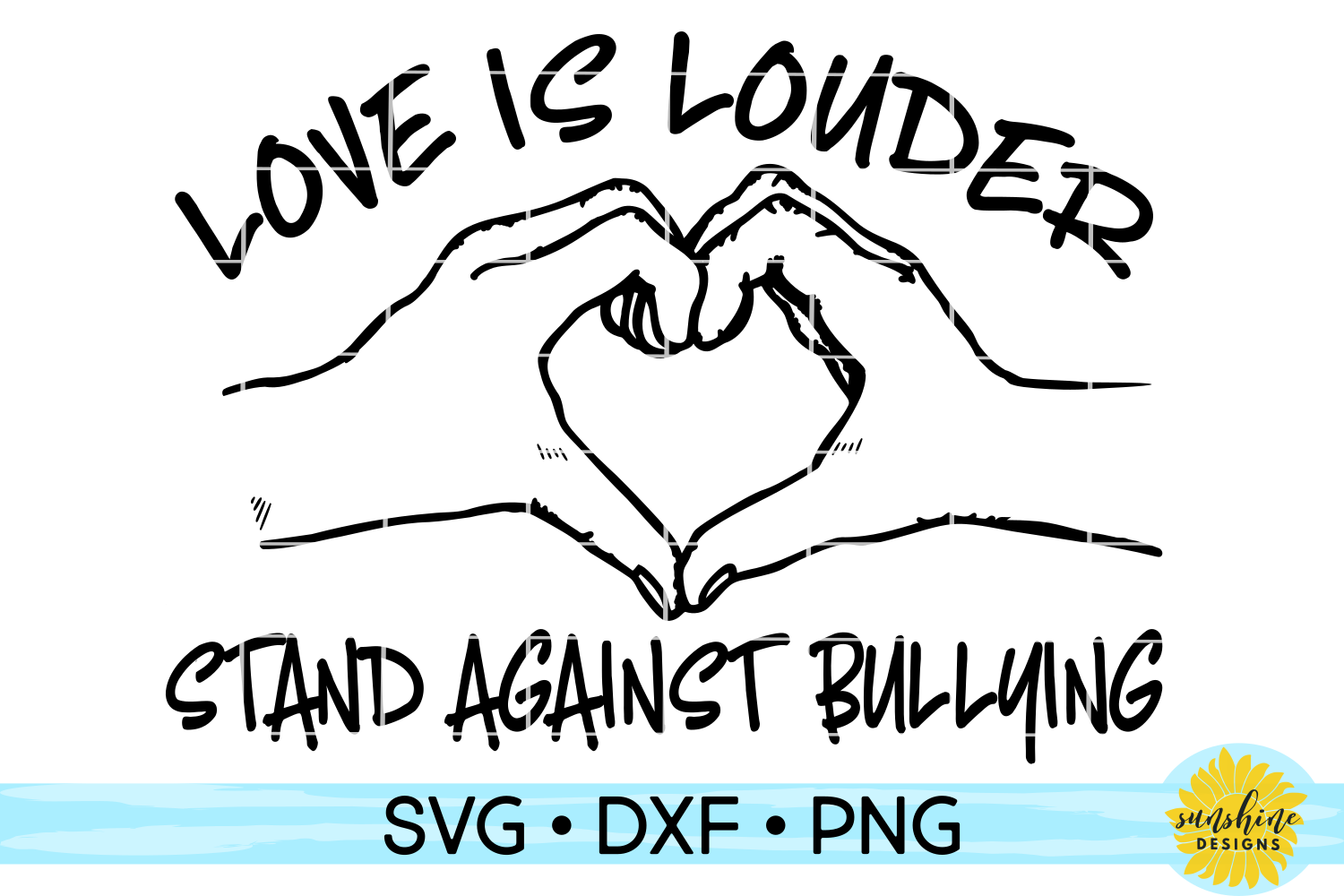 KINDNESS BUNDLE | ANTI-BULLYING | 15 DESIGNS | SVG DXF PNG example image 12